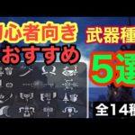 【MHW】モンハン初心者にもおすすめ武器種5選!!*みんなが使っている武器はこれ!!