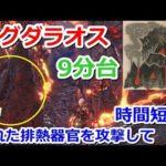 【MHW】ゾラ・マグダラオス 9分台周回手順例 ガンランス【5分針】