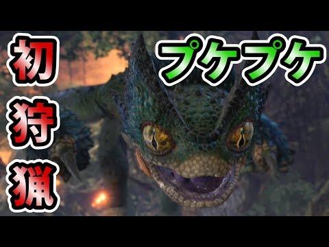【MHW実況】#7 初戦闘!プケプケを狩猟せよ!【モンスターハンター:ワールド】