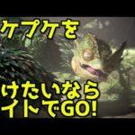 【ウィッチャーコラボ】プケプケを守り切るために!【MHW】