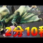 【MHW】プケプケ 大剣 2分10秒 【タイムアタック】