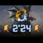 【MHWI】Alatreon 2'24 Great Sword x 4 | アルバトリオン 大剣×4