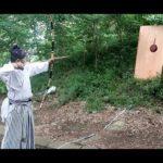 強弓で鎧は貫通できる!? 弓力50キロと27キロの弓で鉄板の貫通力実験 Samurai pierces an 1.6mm iron plate with bow on trial