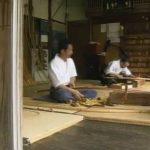 名弓「肥後三郎」の製作風景 kyudo