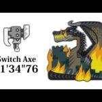 "【MHWI】黒龍ミラボレアス スラアク 11'34""76 Switch Axe Black Dragon Fatalis"