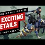 6 Hype Monster Hunter Rise Details and 2 Letdowns