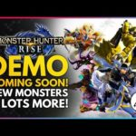 Monster Hunter Rise | DEMO is Coming! New Trailer, New Monsters, Multiplayer Village & More!