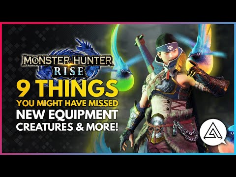 Monster Hunter Rise   9 Things You Might Have Missed – New Equipment, Creatures & More!