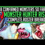 All 28 New Confirmed Monsters Coming to Rise – Monster Breakdown – Monster Hunter Rise! (Discussion)