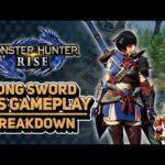 Monster Hunter Rise | Long Sword Gameplay Breakdown- NEW MOVES [#TGS2020 #MHRise]