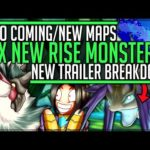 SIX NEW MONSTERS – Leviathans – Multiplayer Village – New Map – Rise Demo – Monster Hunter Rise!