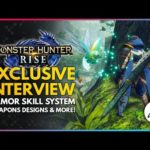 Monster Hunter Rise | Exclusive Interview – New Armor Skill System, Better Weapon Designs & More