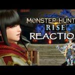 MH Rise new trailer Reaction Tom's Mons | Monster Hunter Rise