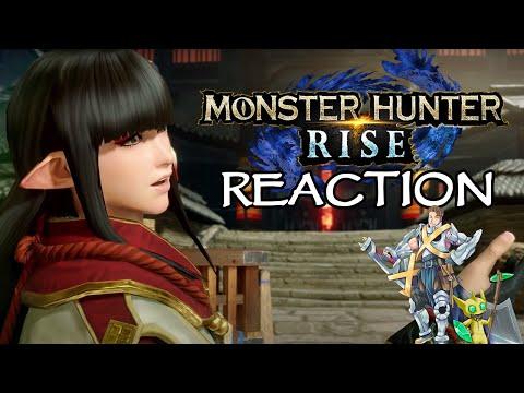 MH Rise new trailer Reaction Tom's Mons   Monster Hunter Rise