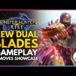 Monster Hunter Rise | New Dual Blades Weapon Gameplay & Moves Showcase