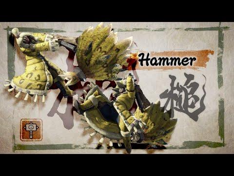Monster Hunter Rise – Hammer