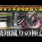 【MHRise】ミツネを6分台で沈めるライズ太刀の飛翔蹴りと居合が強すぎてヤバい! (VOICEROID)【モンハンライズ】