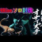 【MHRise】オサイズチ双剣でソロ討伐 モンスターハンターライズ