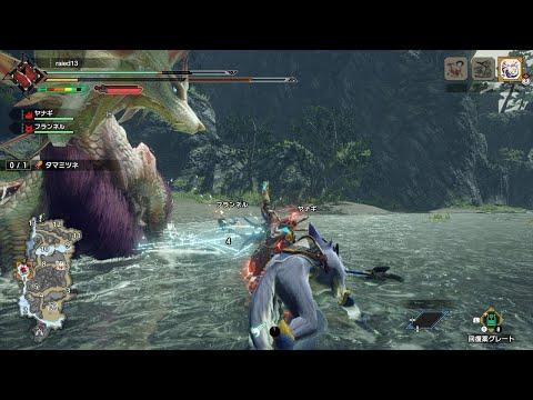 【MHRISE】タマミツネを操竜してしまうハンター【しかも良い所で終了する動画】