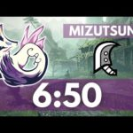 【MHRise Demo】Mizutsune 6'50 Great Sword Solo  | タマミツネ 大剣ソロ