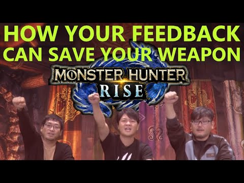 Unhappy with your weapon in MHRise? Do the survey! How the community fixed Iceborne Gunlance