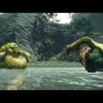 Monster Hunter Rise Tetranadon Vs Arzuros Turf War