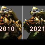 Arzuros Evolution in Monster Hunter  2010-2021 / アオアシラ 進化の軌跡  「モンスターハンター」