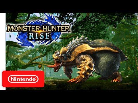 Monster Hunter Rise GAMEPLAY ARZUROS BATTLE COMBAT (Nintendo Switch) モンスターハンターライズ アオアシラ 戦闘ゲームプレイ