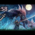 【MHRise Demo】 Mizutsune Long Sword Solo 3:58 / タマミツネ 太刀 ソロ
