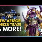 Monster Hunter Rise | First Khezu Clip, New Armor Showcase & More!