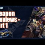 Monster Hunter Rise | Weapon Preview Analysis Part 1/2