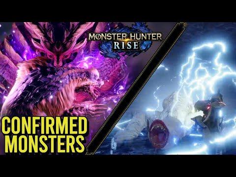 Every Confirmed Monster in Monster Hunter Rise