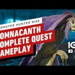 Monster Hunter Rise: Somnacanth Complete Quest Gameplay – IGN First