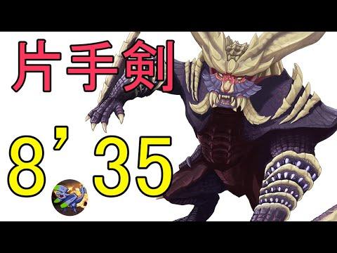 【モンハンライズ】マガイマガドの討伐 片手剣8分35秒【DEMO】
