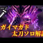 【MHRise体験版】マガイマガド太刀ソロ解説!モーション・立ち回り攻略!