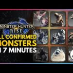 Monster Hunter Rise | All Confirmed Monsters in Under 7 Minutes