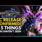 Monster Hunter Rise | PC Release Confirmed & 5 Things You Haven't Seen Yet!