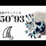 MHRise ゴシャハギ 大剣ソロ 4'50″93 雪鬼獣がやってくる/Goss Harag Greatsword solo