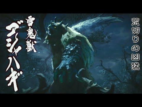 【MHRise】もふもふな背中 雪鬼獣ゴシャハギ 初見