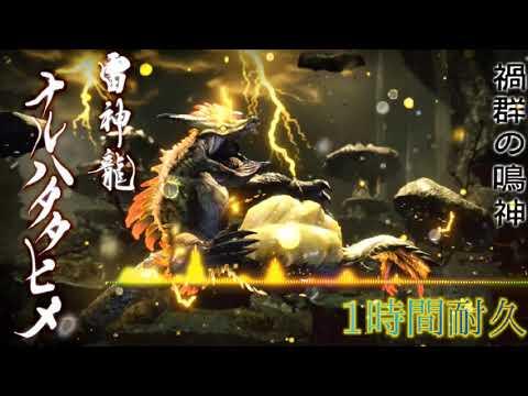 【MHrise】高音質 ナルハタタヒメ 戦闘BGM 1時間耐久