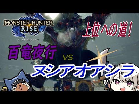 【モンハンライズ】上位への道!VS「ヌシアオアシラ」【片手剣】