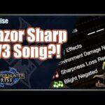 MHRise | Razor Sharp LV3 Song?!