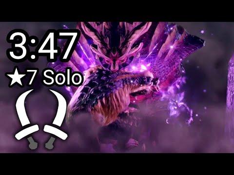 【MHRise】 上位 マガイマガド 双剣 ソロ 3:47 捕獲 High Rank Magnamalo Dual Blades solo 【モンハンライズ】