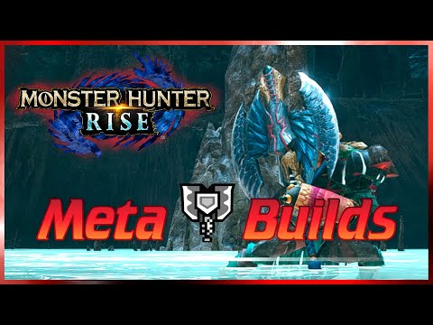 MHRise | OP Meta Endgame CHARGE BLADE Builds | Monster Hunter Rise (MHR Guide)