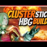 MHRise | CLUSTER/STICKY HBG BUILDS