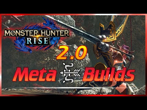 MHRise | NEW OP Meta Bow Builds | 2.0 Monster Hunter Rise Build Guide モンハンライズ MHR