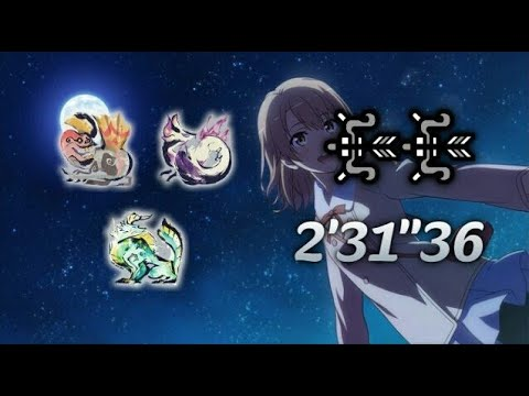 MHRise 集会所★6 英俊豪傑 弓×弓 TA wiki 2'31″36/Showdown in the Arena Bow × Bow TA wiki rules【switch ver 2.0】