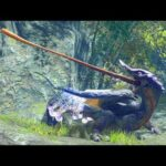 【MHRise】まさにカメレオン!古龍オオナズチの食事シーン(生態動画)