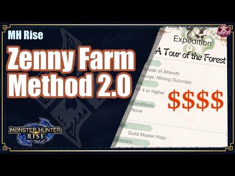 MHRise | Zenny Farm Method 2.0