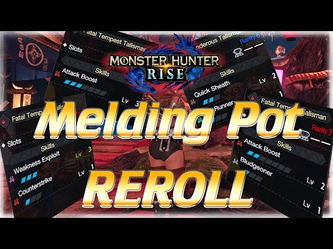 MHRise | How to REROLL Melds – Get God Charms FAST | Monster Hunter Rise Guide モンハンライズ